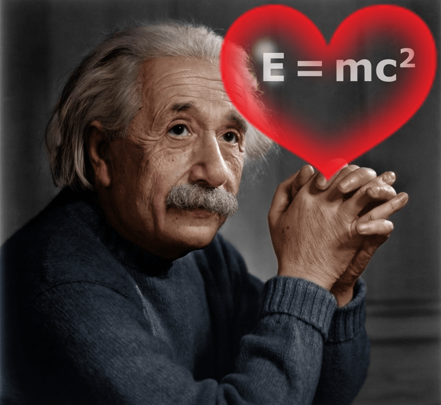 These Words From Einstein Will Change Your Relationship to LOVE