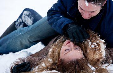 Passionate Winter Fight