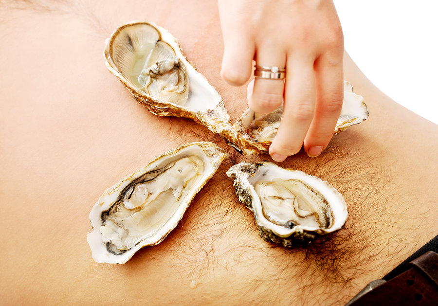 Oysters—Ready for a Romantic Week