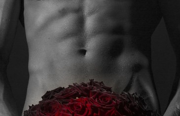 Man With Rose Bouquet
