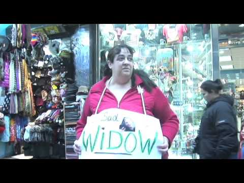 A Widow on Valentine's Day (A Video Experiment)