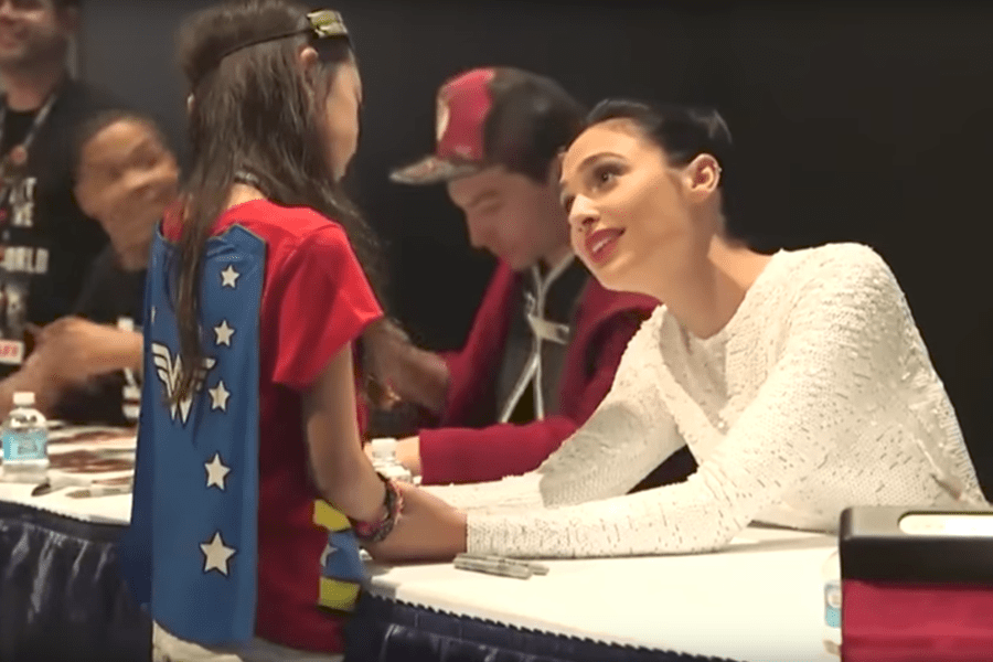 Why The Video Of A Little Girl Meeting Gal Gadot Is Everything