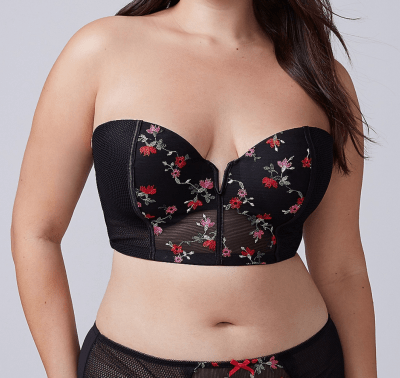Valentine's Day Lingerie for curvy women
