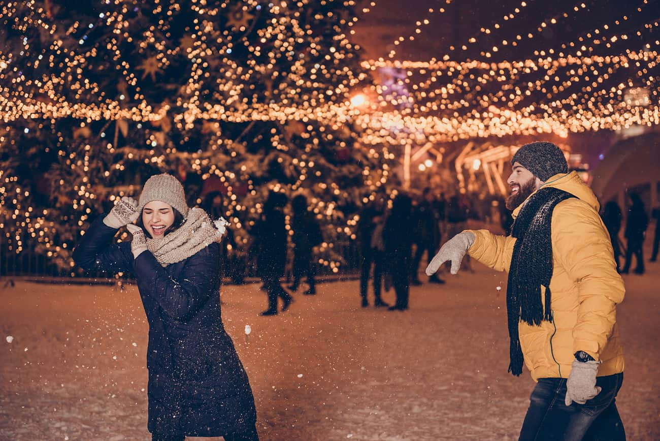 Puns, Regicide and Snowball Fights: One Couple's Celebration of St. Valentine's Day