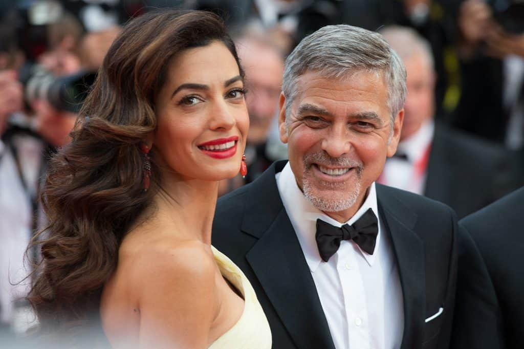 Save Download Preview George Clooney, Amal Clooney
