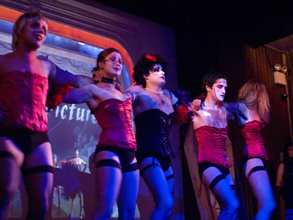 finding love on stage with rocky horror picture show