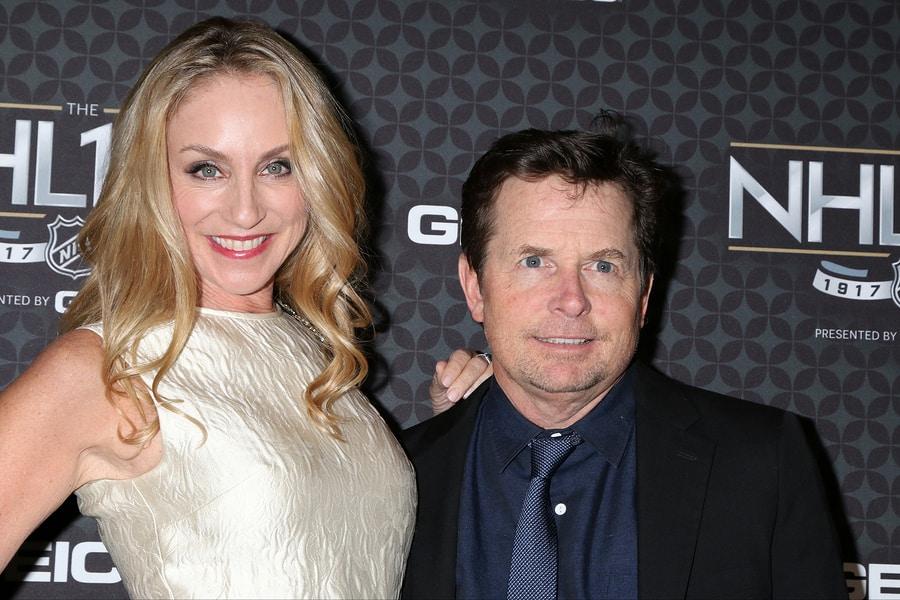 Tracy Pollan, Michael J. Fox