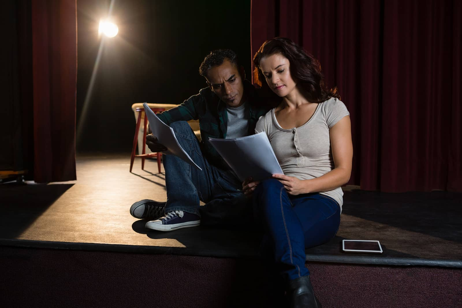 Falling in Love Onstage: Finding My Lover Through the Magic of Theatre
