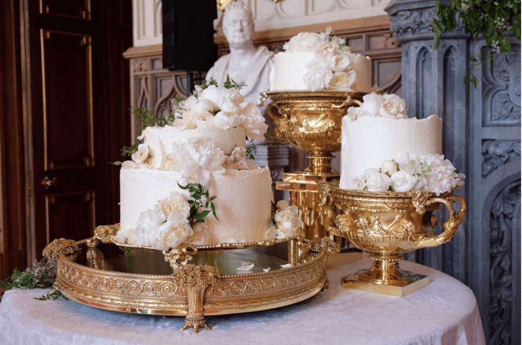 meghan and harry wedding cake