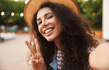 beautiful teenage woman