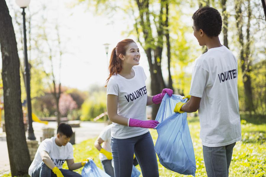 Cheerful Volunteers