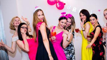 bachelorette party – women enjoying the party