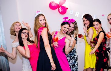 bachelorette party - women enjoying the party