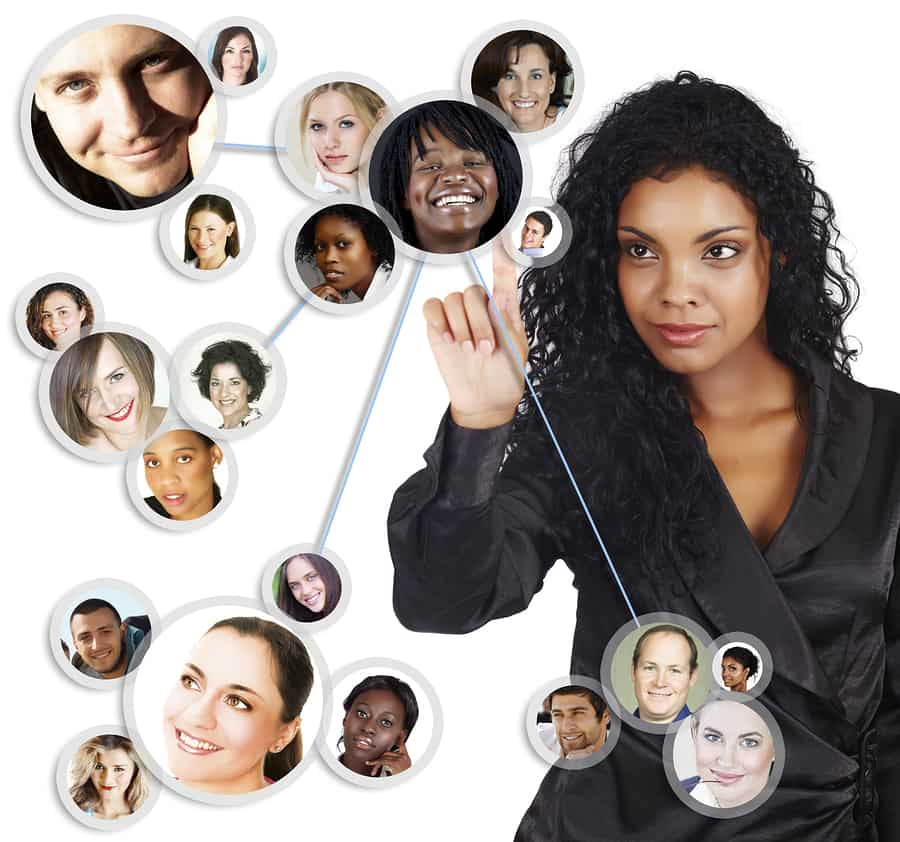 Social Network Of African American woman