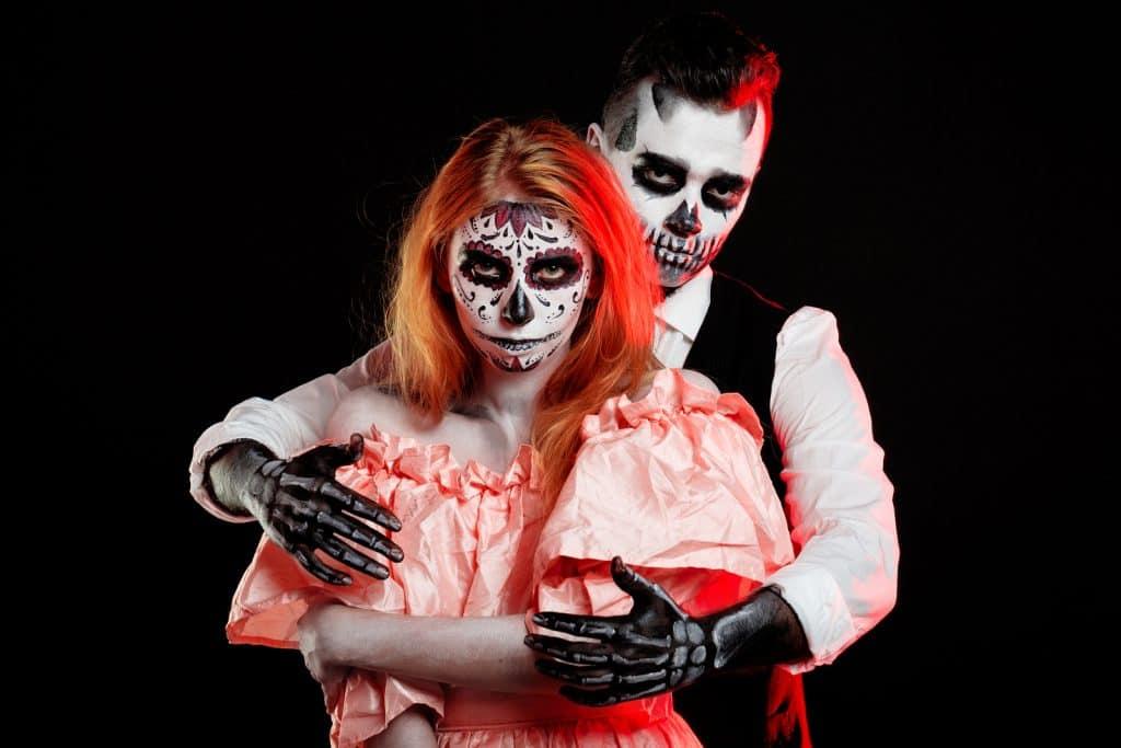creepiest couple halloween